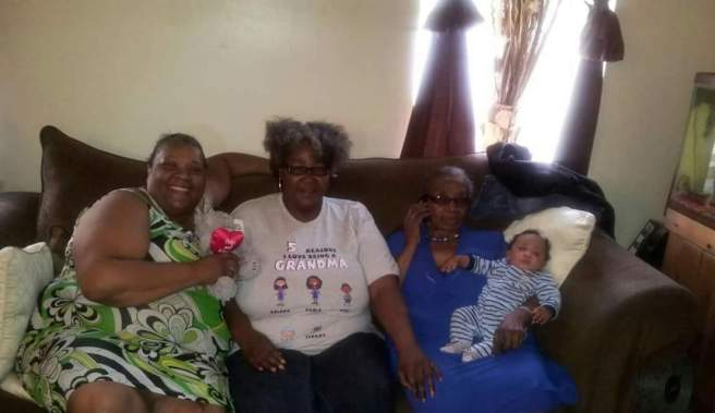 My Aunt Tina, My Mom & My Grammy (hold my Potato)