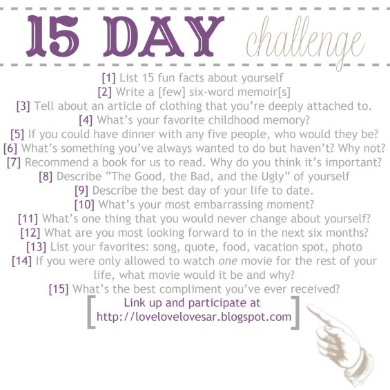 15daychallenge