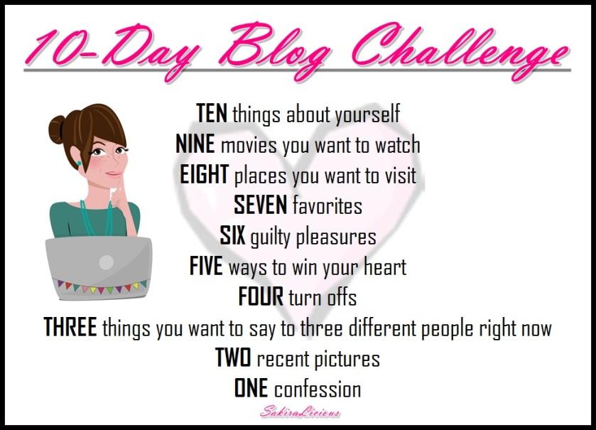 10-Day Blog Challenge